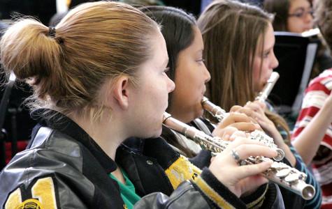 Band Transitioning into Concert Season