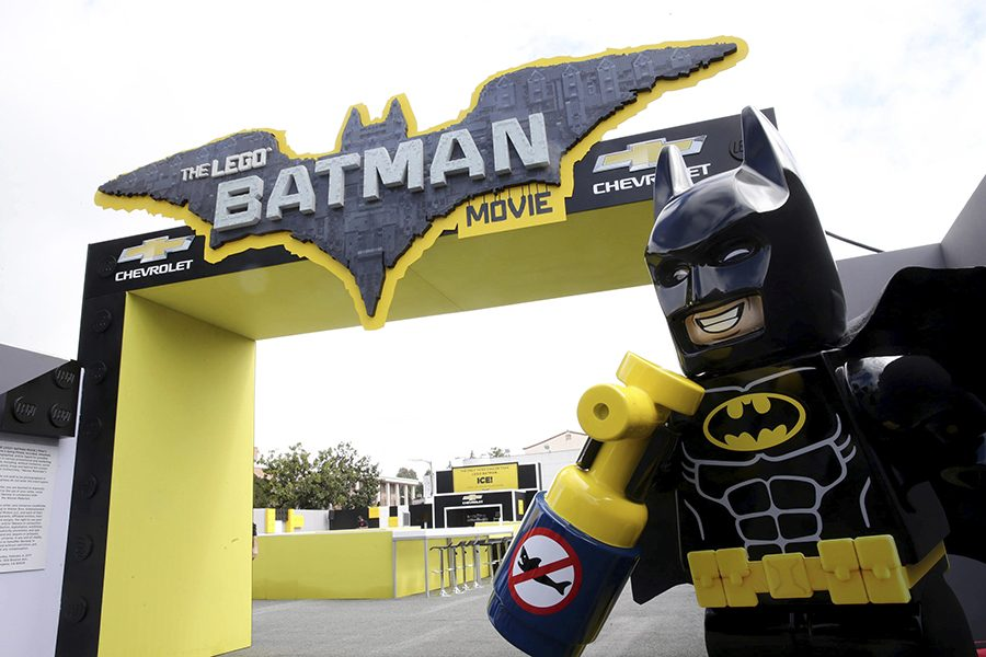 A general view of atmosphere seen at Warner Bros. Pictures Presents the World Premiere of The Lego Batman Movie at Regency Village Theatre on Saturday, Feb. 4, 2017, in Los Angeles. (Photo by Steve Cohn/Invision for Warner Bros./AP Images)