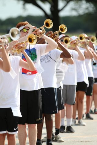 Band Marches Through Summer