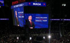 Trump Rallies Houstonians