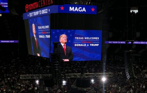 Trump Rallies Houstonians