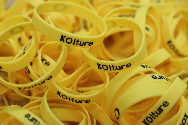 Bundles of KOulture bands awaits for deserving students.