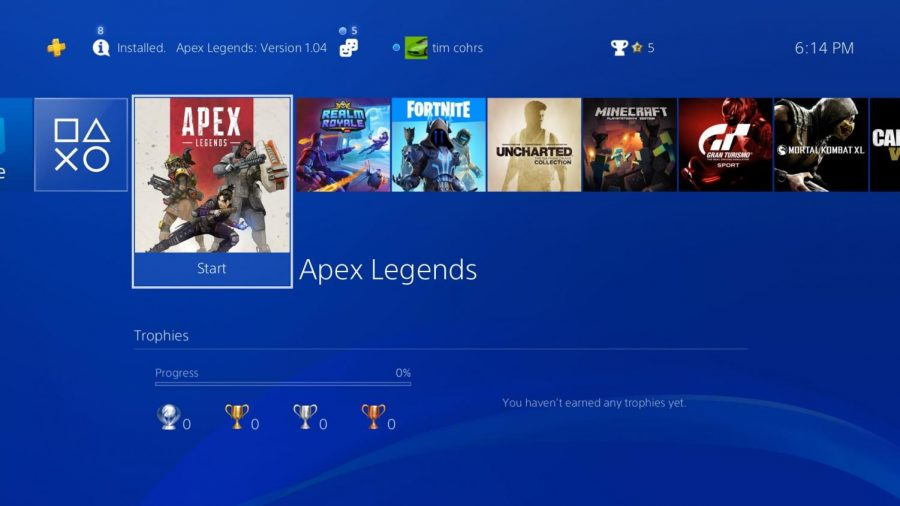 Apex+Legends%2C+released+Feb.+8%2C+is+already+gaining+popularity+with+avid+gamers+due+to+it%27s+high+standard+of+graphics+and+by+the+fact+that+it+is+free.