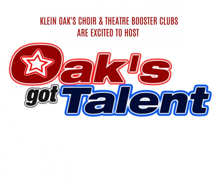 Logo+of+Oak%27s+Got+Talent+Show+on+flyer+made+by+the+Choir+and+Theatre+Booster+Clubs.