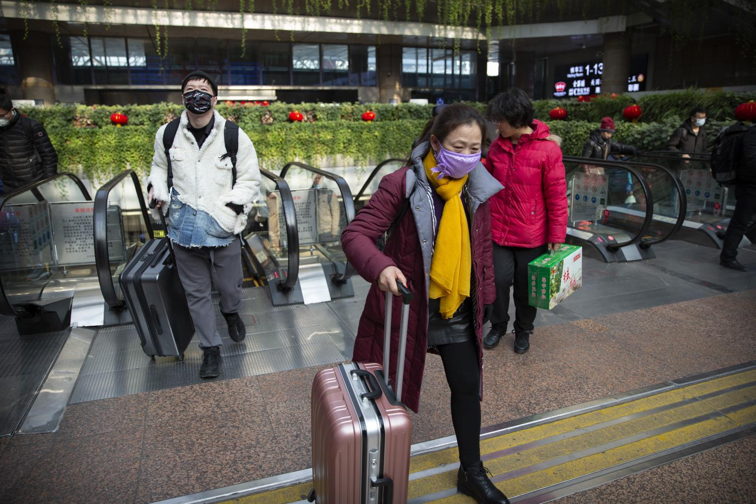 Hong Kong citizens wear masks to protect themselves from the Coronavirus that has paralyzed the special administrative region of China.