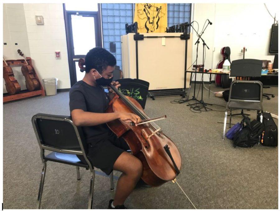 Fine arts students continue TMEA Region auditions despite coronavirus restrictions.