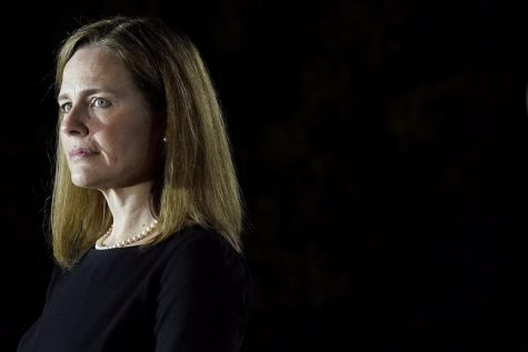 "Amy Coney Barrett stands ready to be inducted as the newest Supreme Court Justice. Students have many hopes for her time on the court. One wish is that she remain neutral in her rulings. ""I think a Supreme Court Justice should not lean any specific way and should not be biased toward either party,"" senior Cooper Anders said."