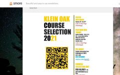 Scan the QR code to visit the Oak course selection website for 2021 for more information.
