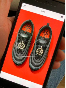 "Each pair of the avant-garde footwear sold for $1,018. ""Although I would never buy these because they're expensive and do not fit my style, I think the concept is really creative and the shoes look good,"" senior Cam Kasmiersky said."