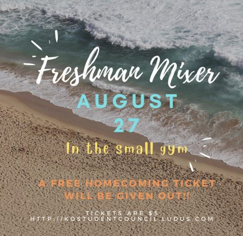 As the new school year begins, the 2025 Freshman Class is invited to attend a social party this Friday at the school with games, photos and fun to get to know new people and come together as a class.
